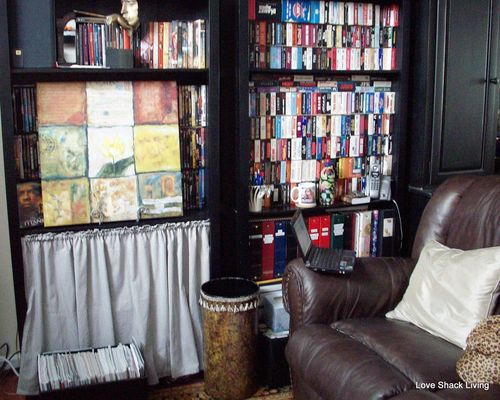 01. BEFORE Bookcases