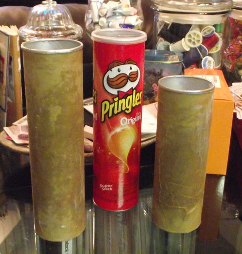 10. Pringles Cans