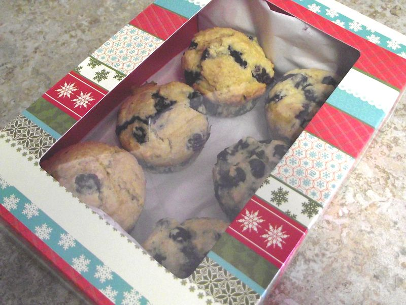 17. Muffins all boxed
