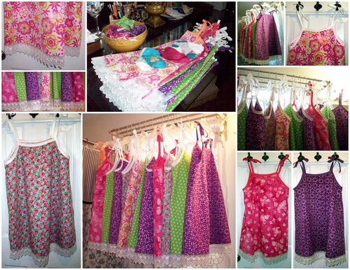 16. July Little Dresses Mosaic