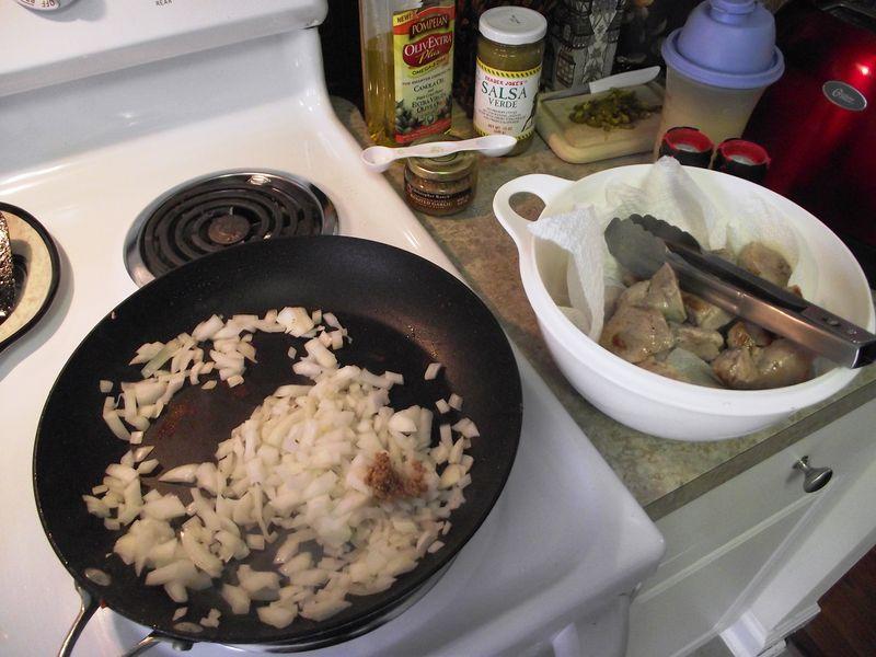 06. Saute onions n'garlic