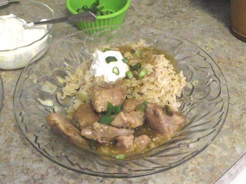 17. Serve w'rice