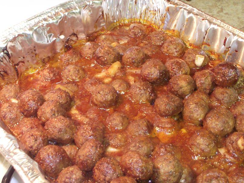 07. Bake Meatballs