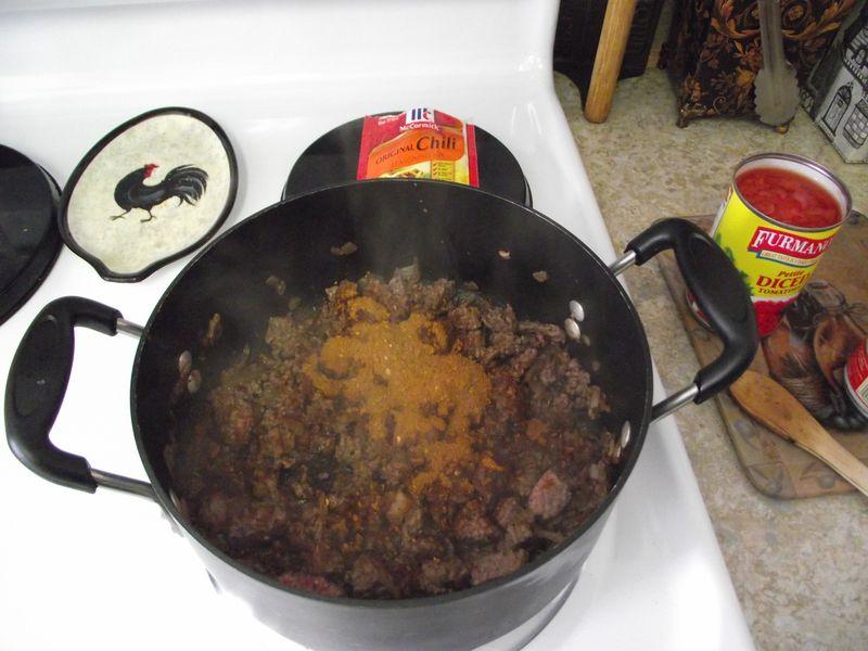 07. Add chili seasoning