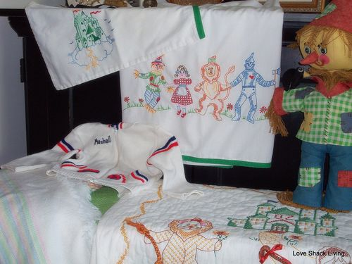 Wiz of Oz Baby Linens