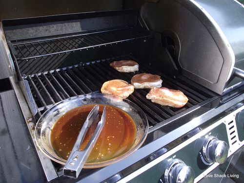 03. Place on preheated grill