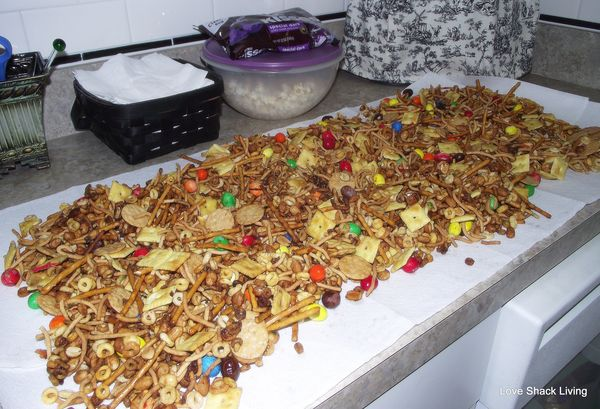 02. Party Mix on Counter
