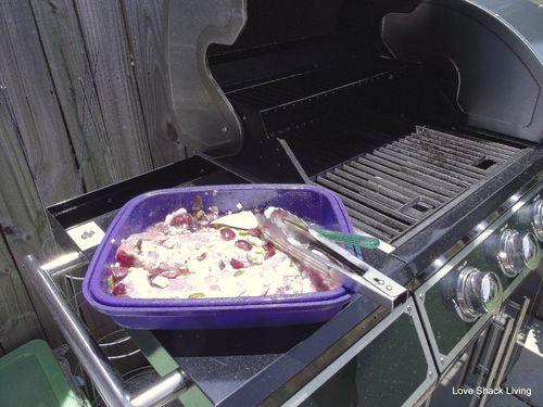 08. Preheat grill