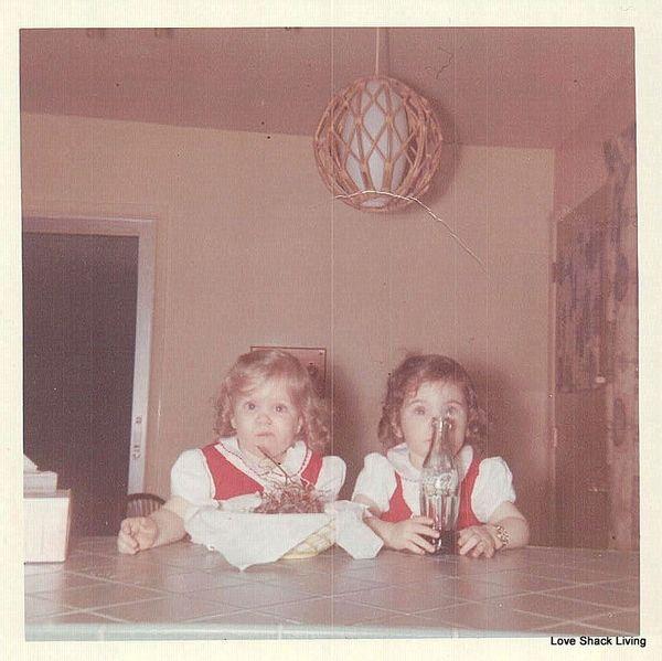 07. Carol & Cheryl as Babies