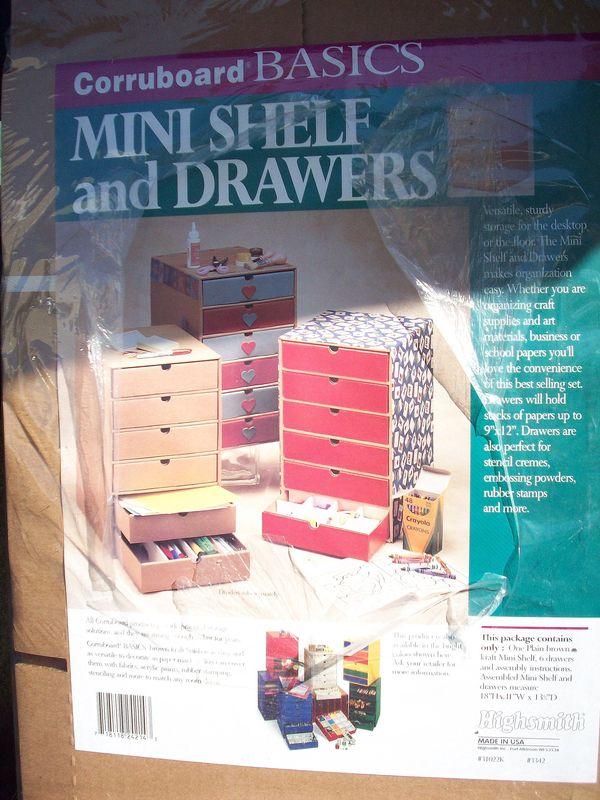 04. Mini Self w'Drawers