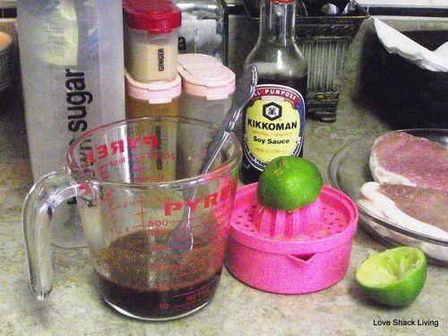 02. Mix up marinade