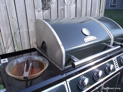 04. Close grill cover