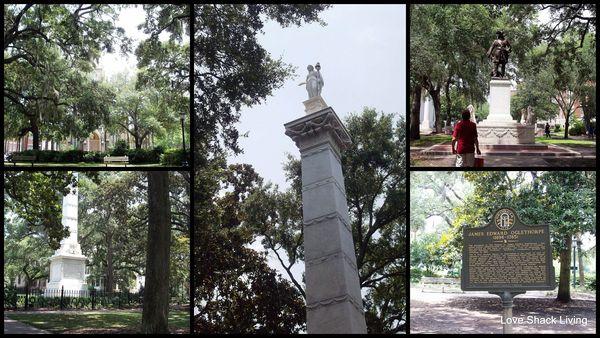 Savannah Squares Collage