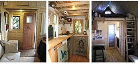 TINY HOUSE On HGTV This Monday Sept Th Containit - B53 tumbleweed house