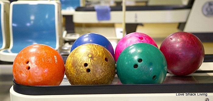 01. Bowling Alley Balls