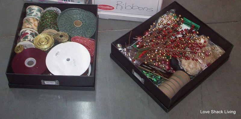 01.Embroidery & Xmas Ribbons
