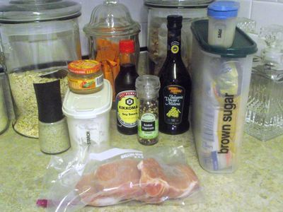 01. Gather Marinade ingredients