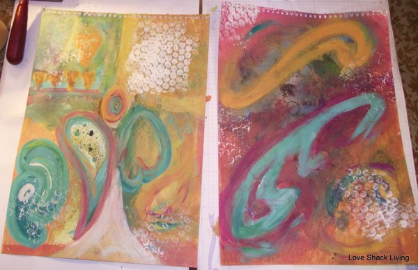 03. Apply paints and create shapes-1