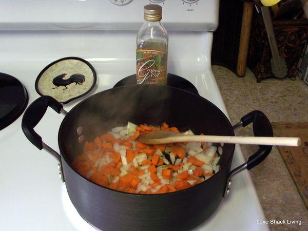 02. Saute onions&carrots