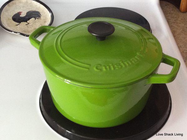 02. Green pot